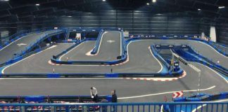 The Worlds Largest Indoor Go Kart Track 11