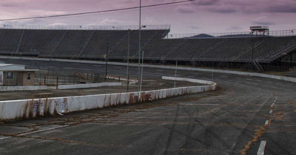 These Kids Sneak Into An Abandoned NASCAR Track and Start Exploring 11