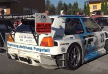 This 600HP Golf MK2 TFSI-R Is A Real Hillclimb Master 1