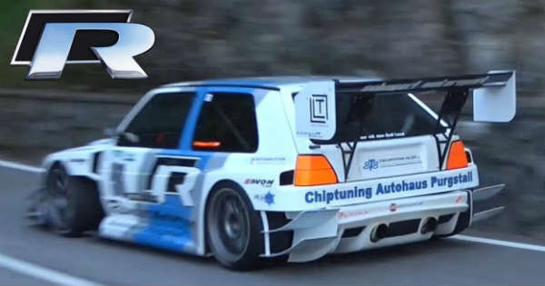 This 600HP Golf MK2 TFSI-R Is A Real Hillclimb Master 2