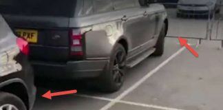 This Arrogant Driver Parked The Car In A Wrong Place Blocked Another Car 1