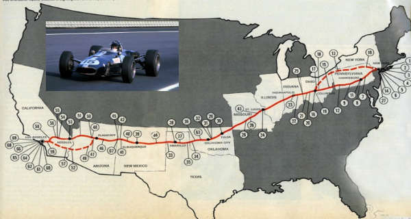 This Is How The F1 Driver Dan Gurney Won The Legendary Outlaw Road Race 1