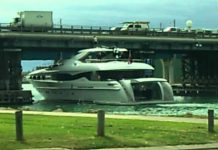 This Is What Happens When A Big Boat Faces Small Bridge 1
