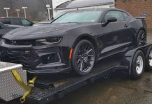 This Man Bought Himself Brand New Camaro ZL1 For Christmas 1