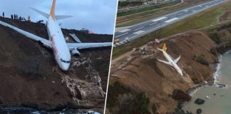 This Passenger Jet Nearly Fell In The Sea 1