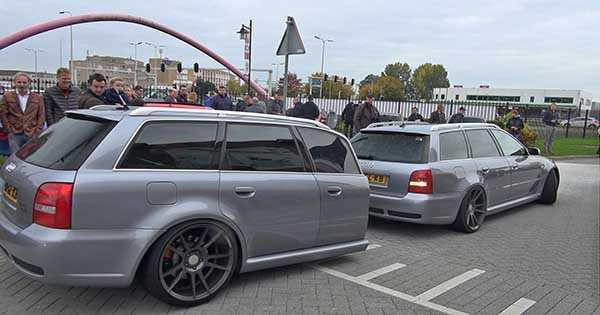 Unusual Audi RS4 Avant B5 1