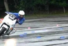 Wet Surface Skills Japanese Police Bikes 2