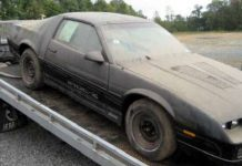 Where Is The New 1985 Iroc Z28 Chevrolet Camaro Found In A Trucks Trailer 2