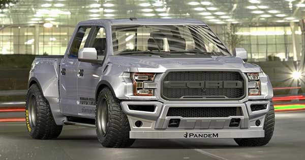 Wide Body Ford Raptor F 150 Pandem Displayed at Tokyo Auto Salon 1