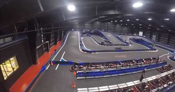 Worlds Largest Indoor Go Kart Track 2