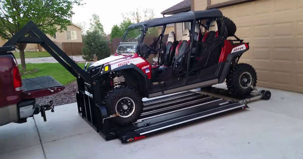 The Hydraulic UTV Deck Will Make The Job Of Loading Easy 2
