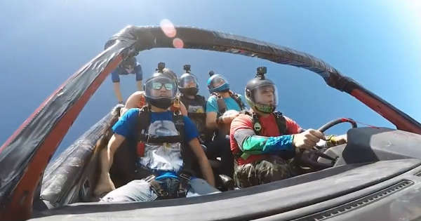 Want A Ride In The Skydiving Car 1