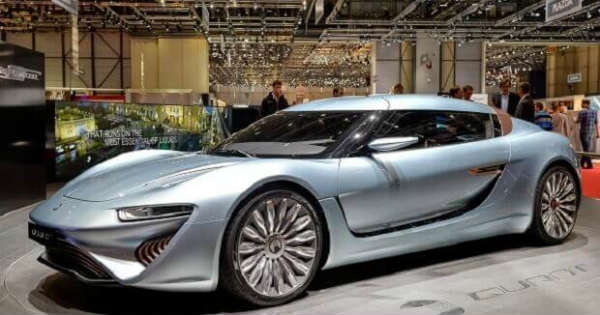 A Car Powered By Salt Water - Quant E Sportlimousine 1