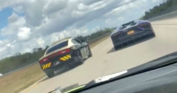 patrol trooper raced lamborghini 1