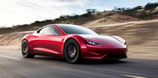 acceleration powerful tesla roadster