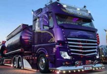 Lowrider Mercedes-Benz Actros 2663 Semi Truck 2