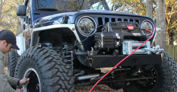 Warn Winches for Jeeps 3 Tips To a Successful Installation 2