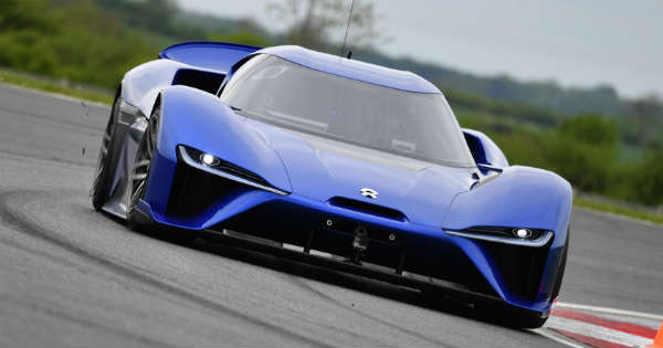 Fastest Electric Car in the World Unveiled 3