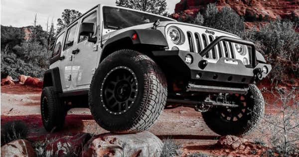 Choosing the best tires for your Wrangler 1
