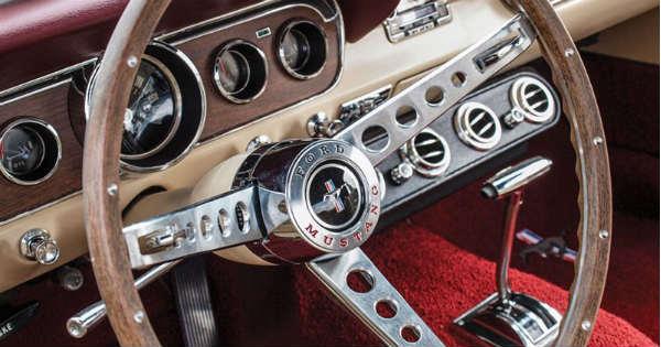 Restoring classic muscle car steering wheel 1