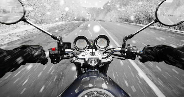 Safety Riding Tips for Bikers in the Wintertime 1